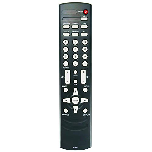 New RC-LTL Replacement Remote Control fit for Olevia 5 Series LCD HDTV 526 527 532 537 542 527S11 527-S11 527-S12 527V 532B1 532B12 532-B12 532-B13 532H 532V 542-B11 542I 432-S11 437-S11 437V 442V