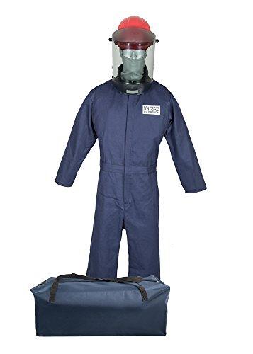 Oberon 8 Cal HRC2 Series Arc Flash Kit, Navy Blue, 2X-Large