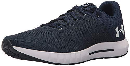 Under Armour Men's Micro G Pursuit Running Shoe, Academy Blue (402)/Black, 9.5