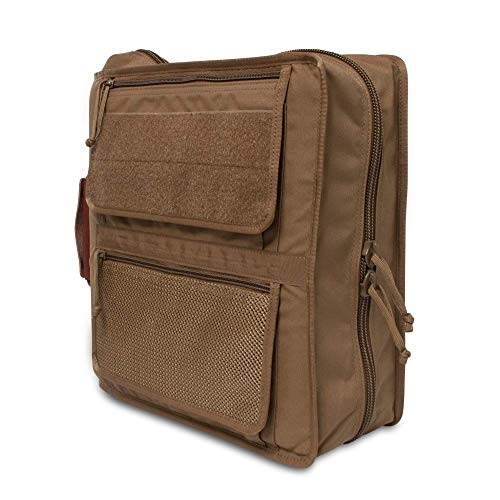 Tactical 3-Ring Cover System (Fits 1.5-2' Binders) in Coyote Brown