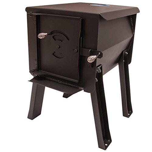 England's Stove Works Survivor 12-CSS 'Cub' Portable Camp/Cook Wood Stove 1.0 Cubic Feet