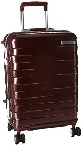Samsonite Framelock Hardside Expandable with Spinner Wheels, Cordovan, Carry-On 20-Inch