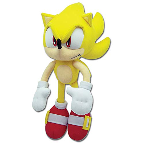 Sonic The Hedgehog Great Eastern GE-8958 Plush - Super Sonic, 12'