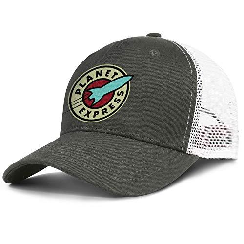RivasPsm Planet-Express-Ship- Adjustable Baseball Cap Strapback Unisex Dad Hat