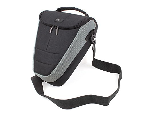 DURAGADGET Durable Black & Grey Shock-Absorbing Padded Interior Case - Compatible with WowWee COJI