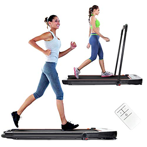 Treadmills for Home Under Desk Treadmill with Installation-Free Walking Jogging Machine for Home Office Use Low Noise 240 lbs Weight Capacity