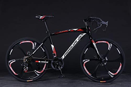 Huhu US Shipping Road Bikes for Men 700c   Carbon Fiber Folding Mountain Bike Trek   21 Speed Disc Brakes Commuters Bicycle   26 Inch Aluminum Full Suspension MTB Bikes Birthday Present