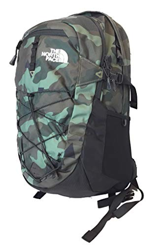 The North Face Borealis Unisex Outdoor Backpack, Olive Green Camo (Bright Olive Green Camo)