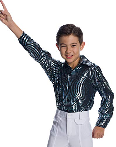 Charades Psychedelic Swirl Children's Disco Top , As Shown, X-Small , Gray