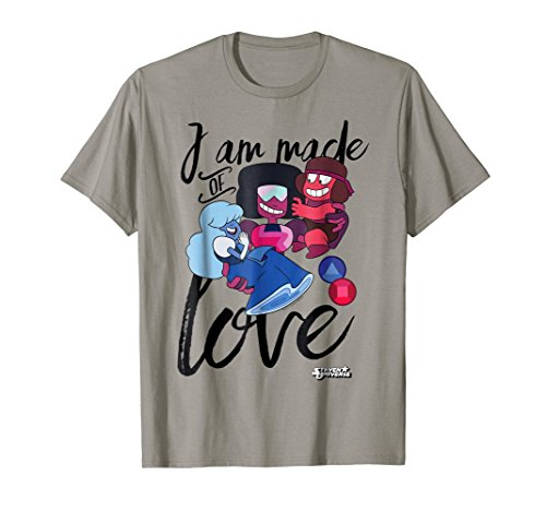CN Steven Universe I Am Made Of Love Graphic T-Shirt