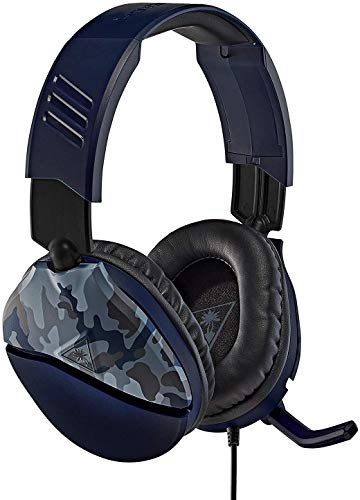Turtle Beach Recon 70 Blue Camo Gaming Headset for Xbox One & Xbox Series X S, PlayStation 5, PS4 Pro & PS4, Nintendo Switch, and Mobile