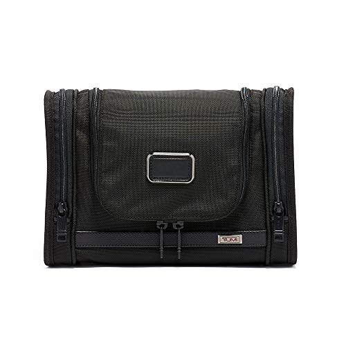TUMI - Alpha 3 Hanging Travel Kit - Luggage Accessories Toiletry Bag for Men and Women - Black