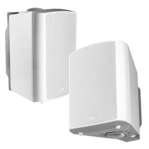 OSD Audio 70V Commercial 6.5' Patio Speaker Indoor Outdoor Pair White AP640T