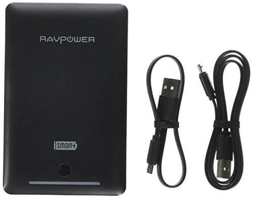 RAVPower 16750mAh Portable Charger, Time-Tested Battery Pack with Dual iSmart 2.0 USB Ports & Flashlight, 4.5A Max Output Power Bank for Nintendo Switch, iPhone, iPad, Galaxy & Android Devices
