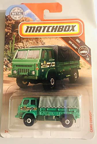 Generic, Matchbox, Camo Convoy 80/20 Green Off Road 1/20