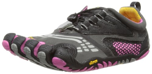 Vibram Women's KMD Sport LS Cross Training Shoe (40 (US Women's 9) B - Medium, Grey/Black/Pink)