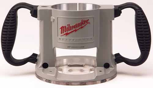 Milwaukee 48-10-5625 2-1/2' max hp EVS Milwaukee Production Router Base Assembly