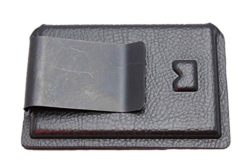 Multi Holsters BMT 2.0 with Money Clip Minimalist Kydex Wallet (Black Raptor)