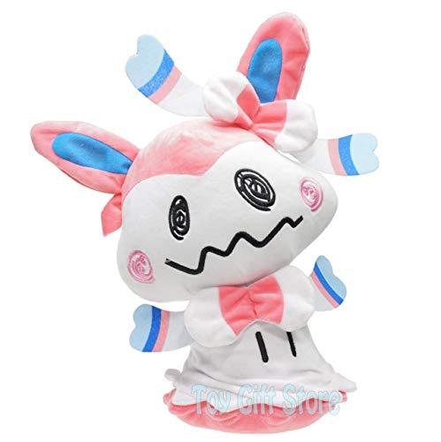 FidgetGear Sylveon Cosplay Mimikyu 16' Poke Sun Moon Plush Doll Stuffed Toy