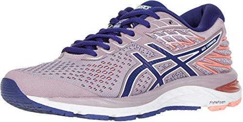ASICS Women's Gel-Cumulus 21 Running Shoes, 7.5M, Violet Blush/Dive Blue