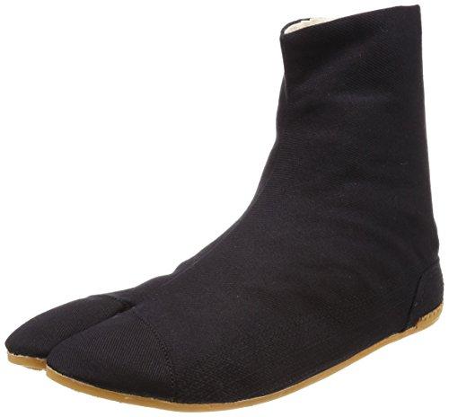 Rikio Ninja Tabi Shoes Low Top Comfort-Cushioned ! Black Jikatabi (JP 29 Approx. US Men 11/ EU 44.5)