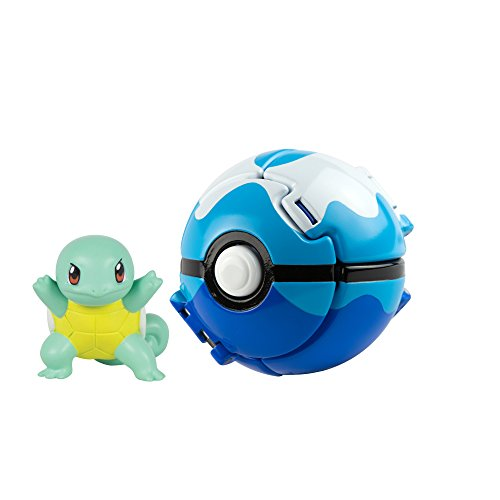 Pokémon Throw 'N' Pop Squirtle and Dive Ball