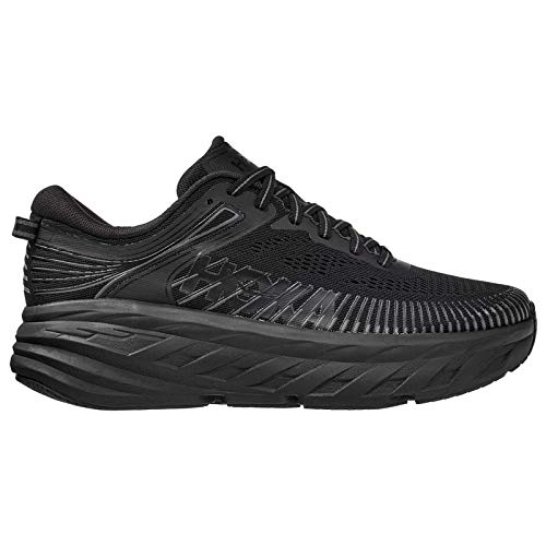 HOKA ONE ONE Womens Bondi 7 Mesh Black Trainers 8.5 US