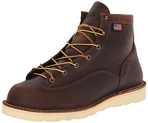 """Danner Men's Bull Run 6"""" Work Boot,Brown,10.5 D US"""
