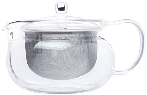 Hario Cha Kyusu Maru Tea Pot, 700ml, glass,CHJMN-70T
