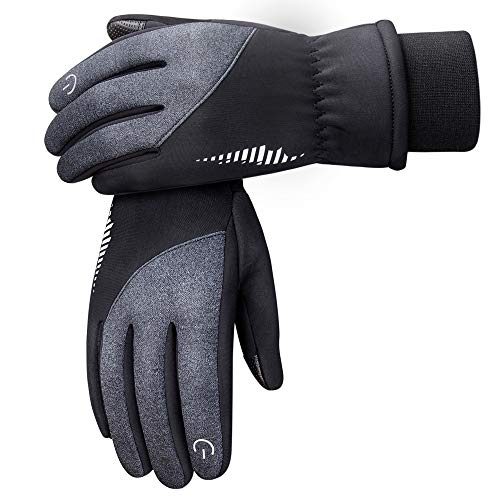 SIMARI Winter Gloves Men Women Touchscreen Cold Weather Warm Glove for Running Driving Cycling Hiking Phone Texting 105