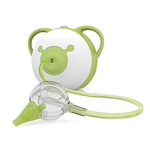 Nosiboo Pro Nasal Aspirator (110 V) - A Baby Snot Sucker with Adjustable Suction Power (Green)