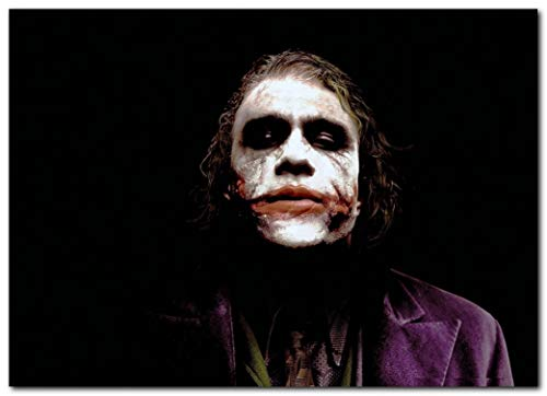 Wall decor Heath Ledger Joker Poster 13x19 Inches   Ready to Frame for Office, Living Room