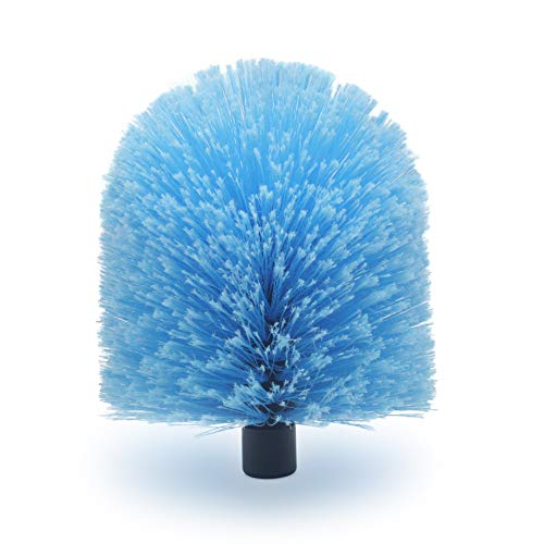 EVERSPROUT Twist-On Cobweb Duster (Soft Bristles) | Hand Packaged to Protect Bristles | Indoor & Outdoor use Brush Attachment | Fits Standard Acme Threaded Poles | Brush Only (Pole Sold Separately)