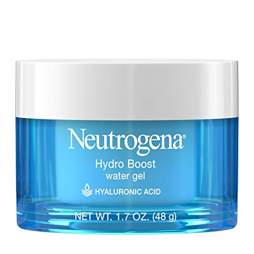 Neutrogena Hydro Boost Hyaluronic Acid Hydrating Water Gel Daily Face Moisturizer for Dry Skin, Oil-Free, Fragrance-Free, Non-Comedogenic & Dye-Free Face Lotion, 1.7 fl. oz