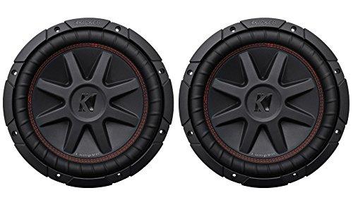 Kicker 43CVR104 10' Dual Voice Coil 4-Ohm Car Stereo Subwoofers Totaling 1600 Watt