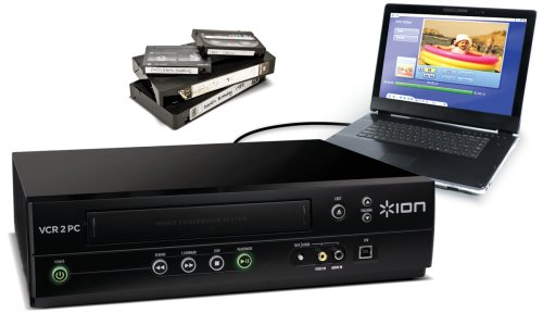 ION Audio VCR 2 PC USB VHS Video to Computer Converter (Discontinued by Manufacturer)