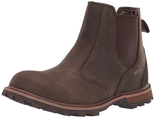Muck Boot Men's Chelsea Rain Boot, Brown, 11