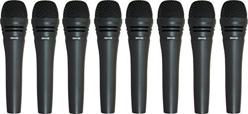 Audio-Technica M8000 Dynamic Mic 8 Pack
