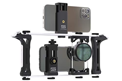 DREAMGRIP Evolution 2020 PRO Universal Modular Transformable Rig System for Any Smartphone, Action and DSLR Cameras. Renewed Basic Phone Video Kit for Vlogging, Youtubers, Journalists or Movie-Makers