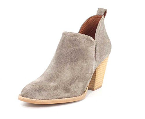Jeffrey Campbell Womens Rosalee Taupe Suede Boot - 8