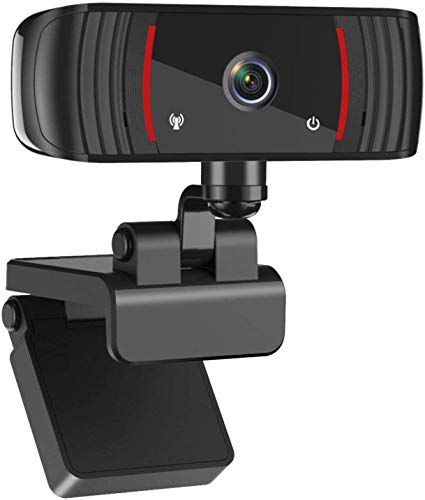 ZEALINNO 1080P Webcam with Microphone for Desktop & Laptop, Web Cam USB Computer Camera for Streaming Online Class, Wide Angle Lens & Large Sensor for Superior Low Light, for/Skype/Facetime/Teams