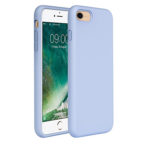 Miracase iPhone SE 2020 Case,iPhone 8 case,iPhone 7 Silicone Case Gel Rubber Full Body Protection Cover Case Drop Protection for Apple iPhone SE 2020/ iPhone 8/ iPhone 7(4.7')(Clove Purple)