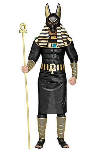Fun World Anubis The Egyptian God Adult Costume Black/Gold