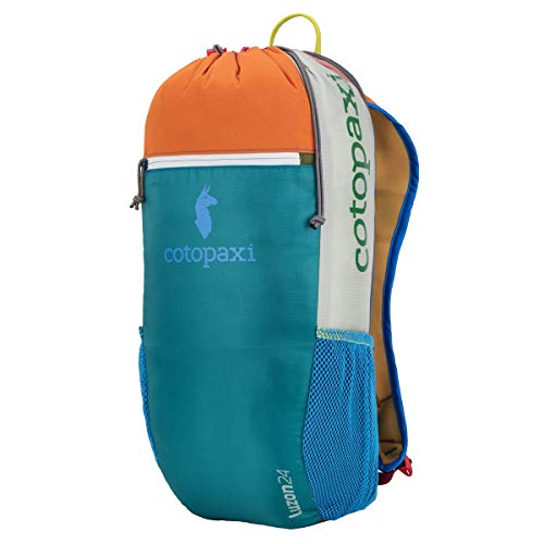Cotopaxi Luzon 24L Hiking Daypack/Backpack | Lightweight & Durable Backpacking & Camping Bag with Del Día Colorway (No Two Products Are The Same)