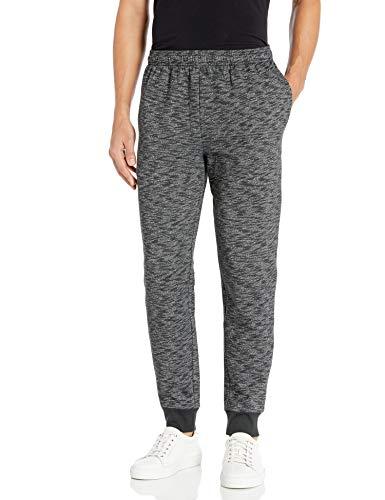 Amazon Essentials Men's Fleece Jogger Pant, Charcoal Space-Dye, X-Small