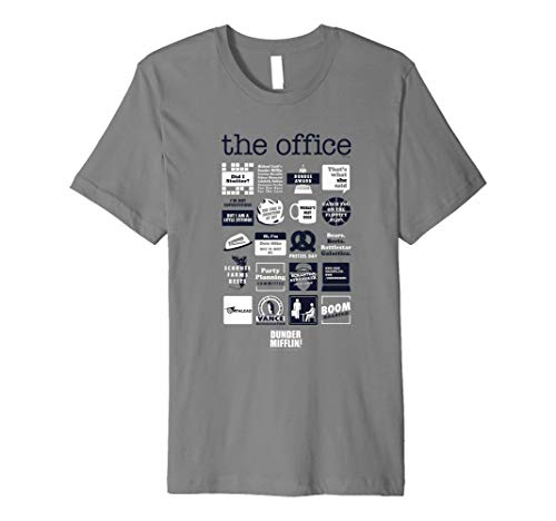 The Office Quote Mash-up Funny Premium T-Shirt