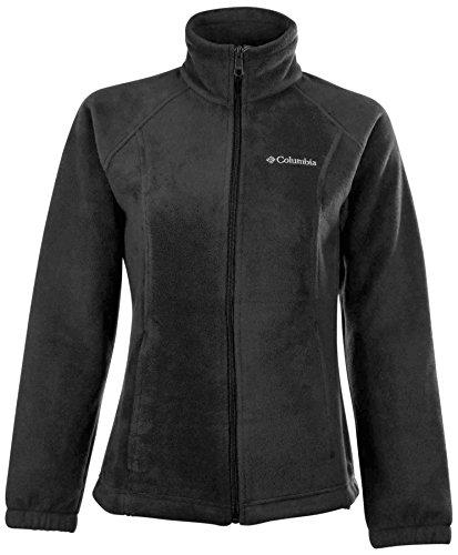 Columbia Women Sawyer Rapids 2.0 Full-Zip Fleece Jacket (1X, Black)