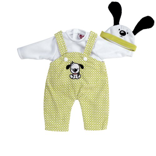 Adora Playtime Puppy Play Overalls - fits most 13 inch baby dolls