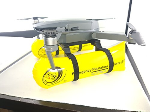 Thekkiinngg Water Mod Drone Emergency Landing Gear Foldable Floating System Yellow Travel Edition Compatible with DJI Mavic Pro