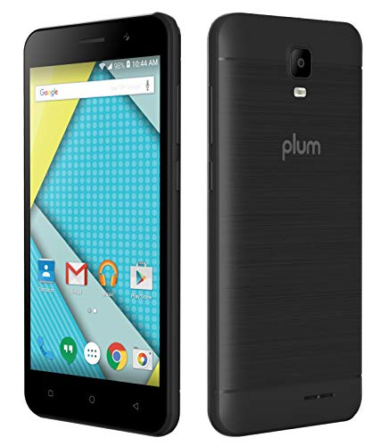 Plum Compass 2-4G Phone Unlocked GSM Android 8.0, 8GB Memory, 8MP Camera ATT Tmobile Metro Cricket Net10 Mint Consumer Cellular Walmart Mobile